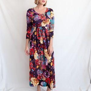 3 for $20 VINTAGE Multicolor Floral Dress